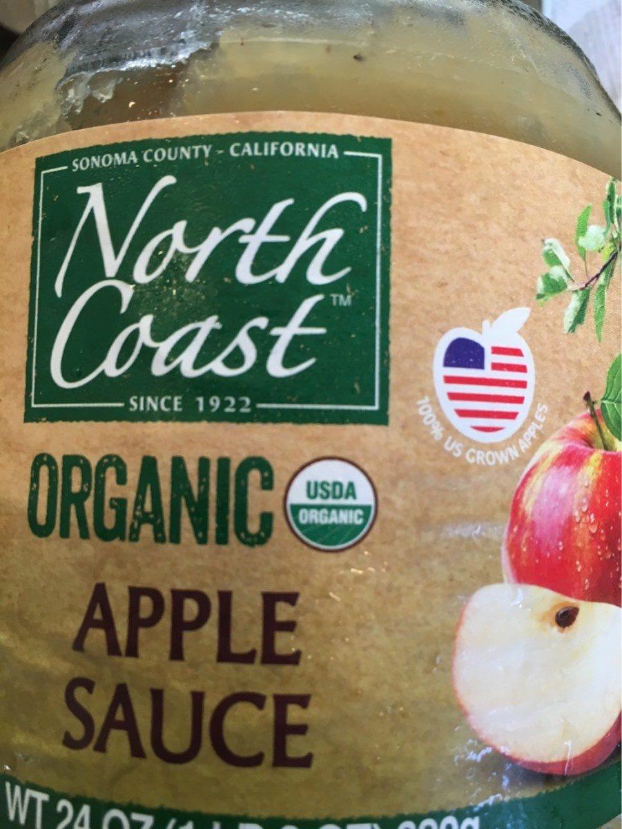 Organic apple sauce - Produit - fr