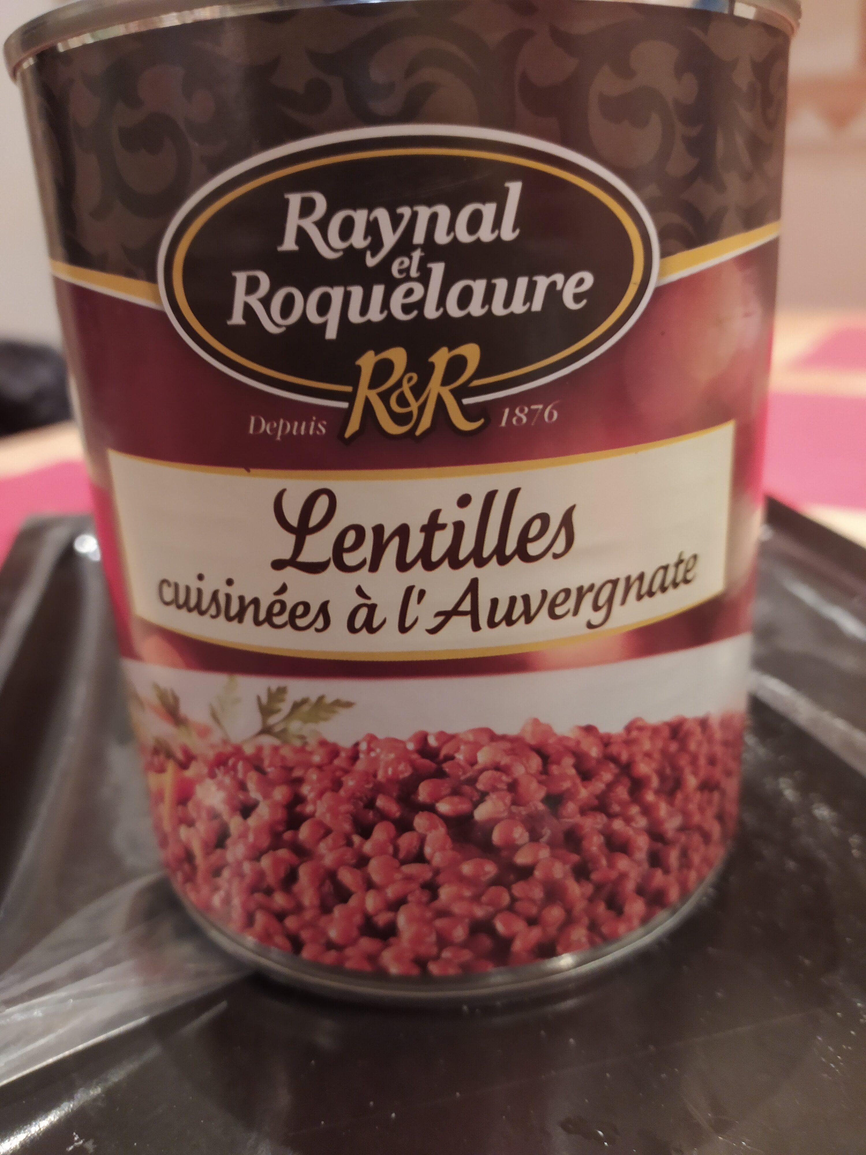 Lentilles cuisinier à l\'auvergnate - Product - fr