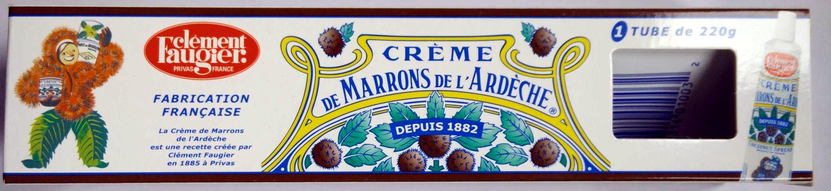 Crème de Marrons de l'Ardèche - Produkt - fr