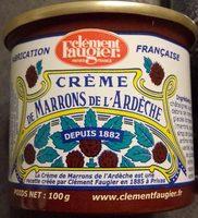 Crème de marrons de l'Ardèche - Produit