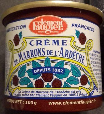 Crème de marrons de l'Ardèche - Product
