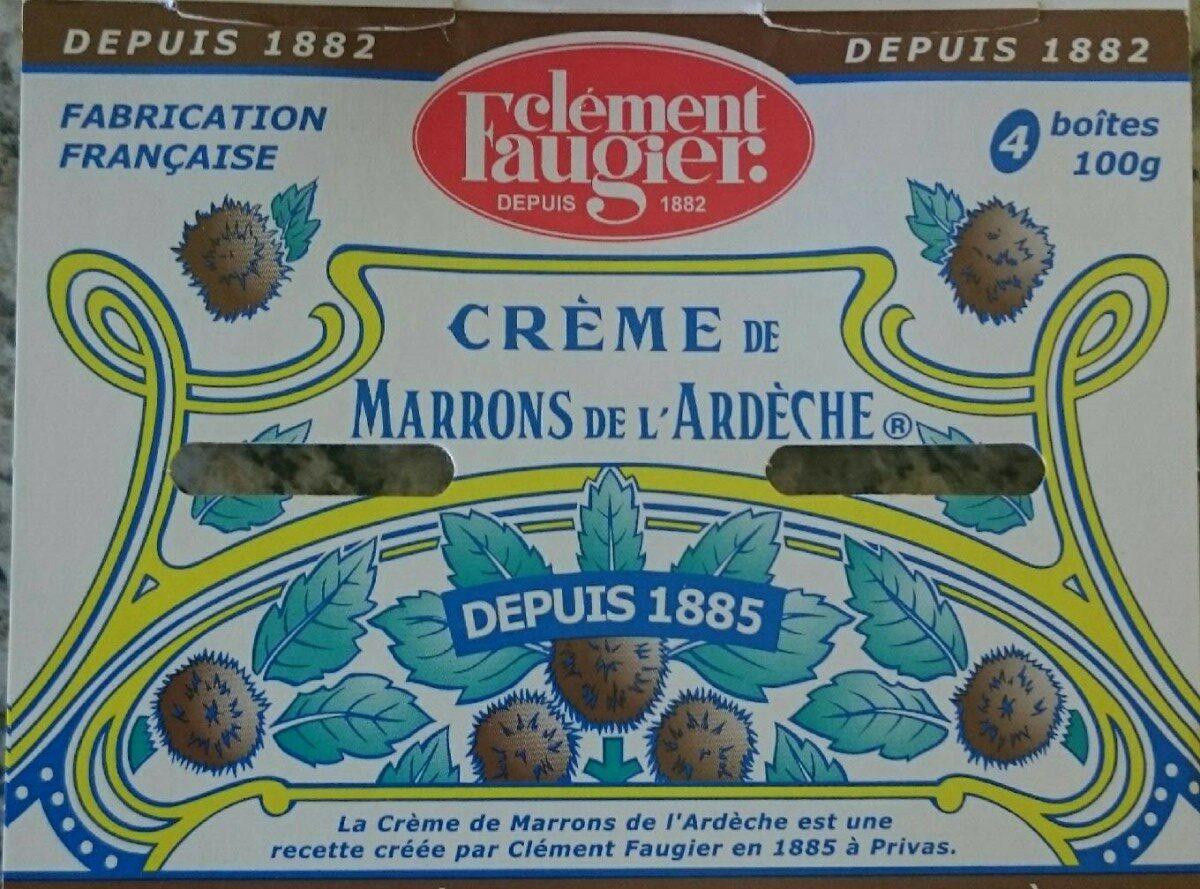 Crème de marrons - Voedigswaarden