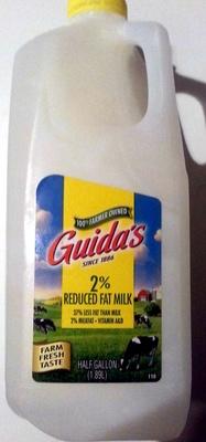2% Reduced Fat Milk - Product - en