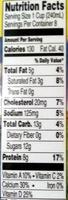 2% Reduced Fat Milk - Nutrition facts - en