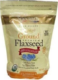 Organic Ground Premium Flaxseed Dietary Supplement - Product - en