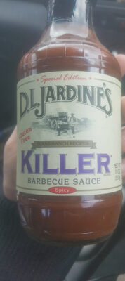 Killer Barbecue Sauce - Produit - en