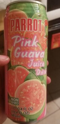 Pink guava juice drink - Product