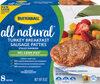 Natural inspirations turkey breakfast sausage patties - Product