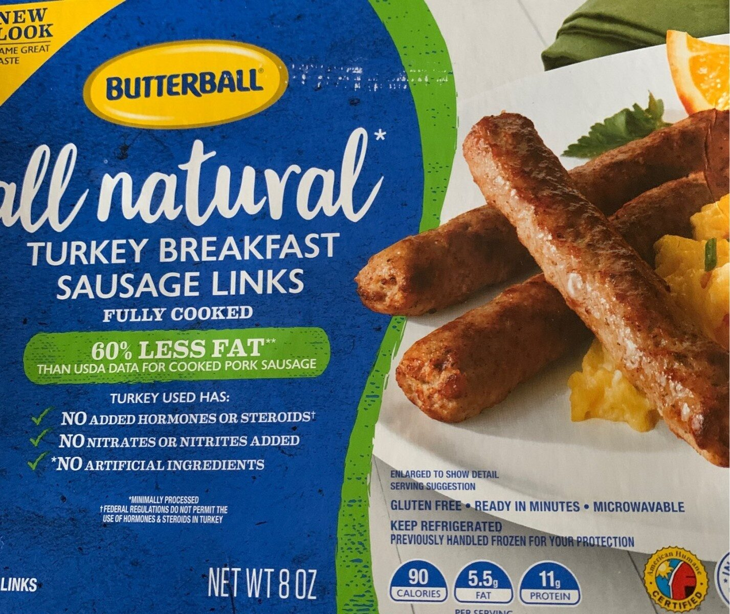 Turkey breakfast sausage - Product