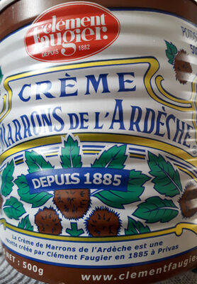 Crème de marrons - Produit - fr
