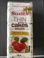 Galettes minces de riz soufflé - Product - en
