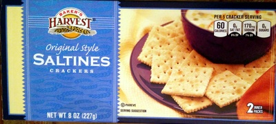 Original Style Saltines Crackers - Produit