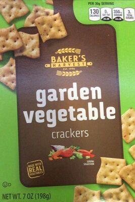 Garden Vegetable Crackers - Produit - en