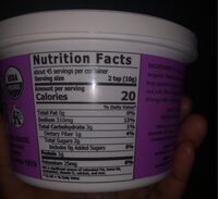 Organic Mellow White Miso - Nutrition facts