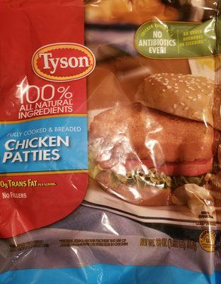 Chicken patties - Product - en