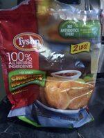 Breaded nugget shaped chicken patties - Product - en