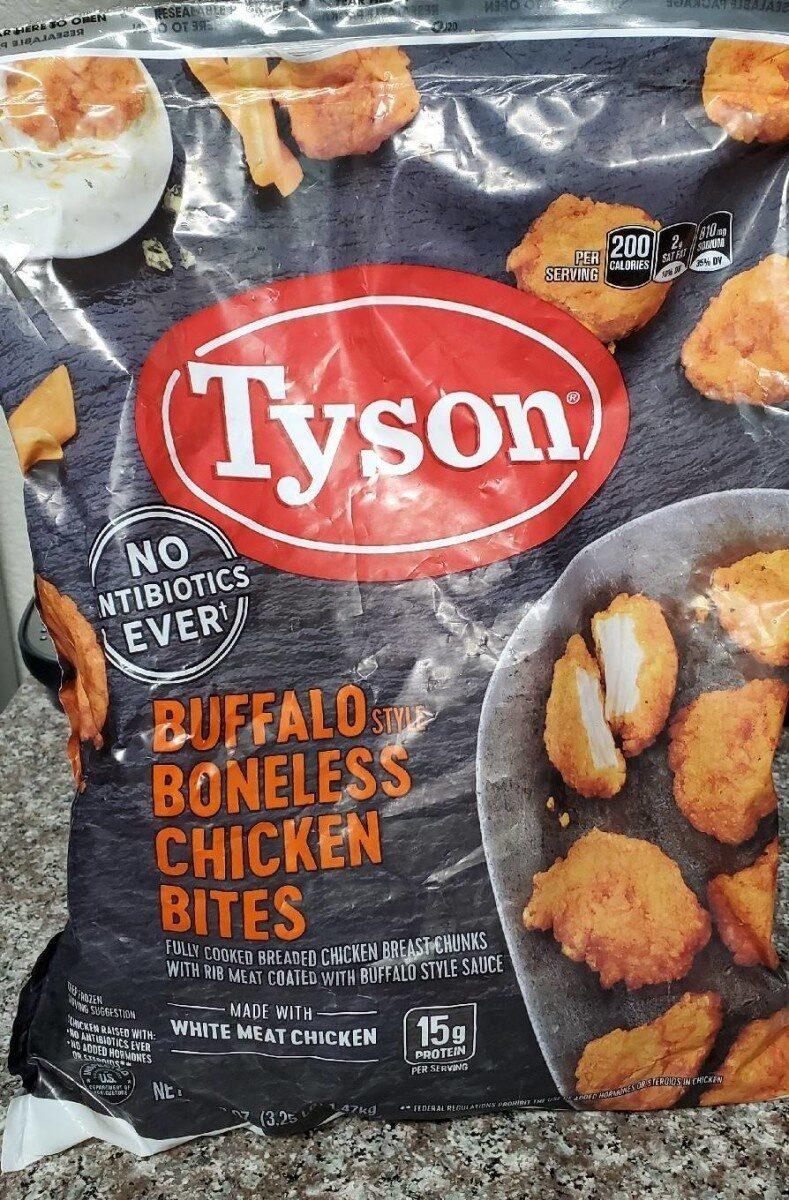 Tyson Buffalo Style Boneless Chicken Bytes - Product - en