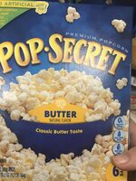 Premium Microwave Popcorn, Butter - Product