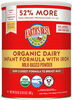 Organic® Infant Powder Formula with Iron - 产品