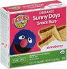 Sunny days strawberry snack bars - Produit