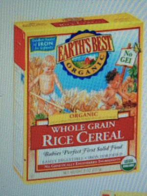Organic Whole Grain Rice Cereal - Product