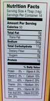 Certified organic whole grain rice cereal - Nutrition facts - en