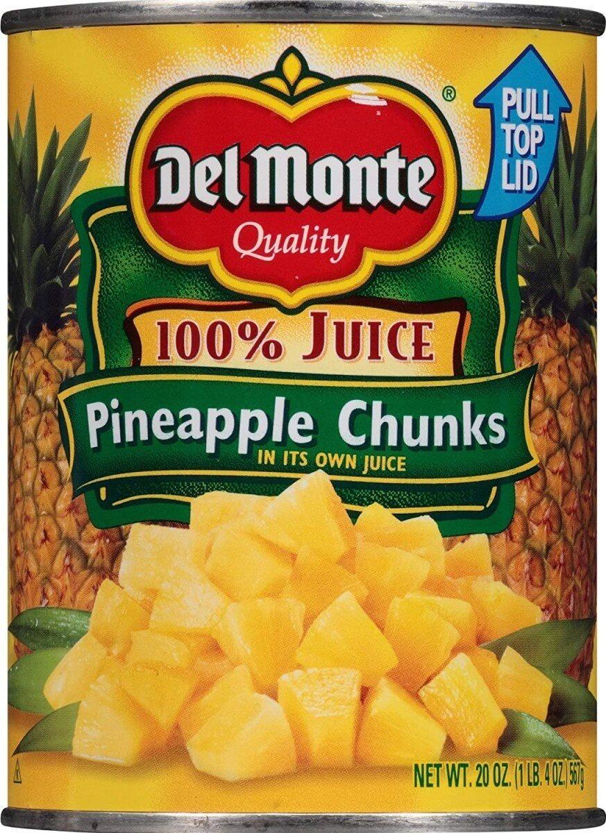 Pineapple Chunks - Product - en