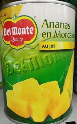 Ananas en morceaux au jus - Product