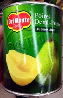 Poires demi-fruits au sirop léger - Product