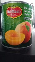 Pêches Demi-Fruits - Produit