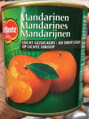 Mandarines au sirop léger - Product