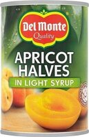 Apricot Halves in Light Syrup - Product - fr
