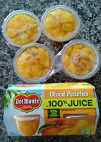 diced peaches - Product