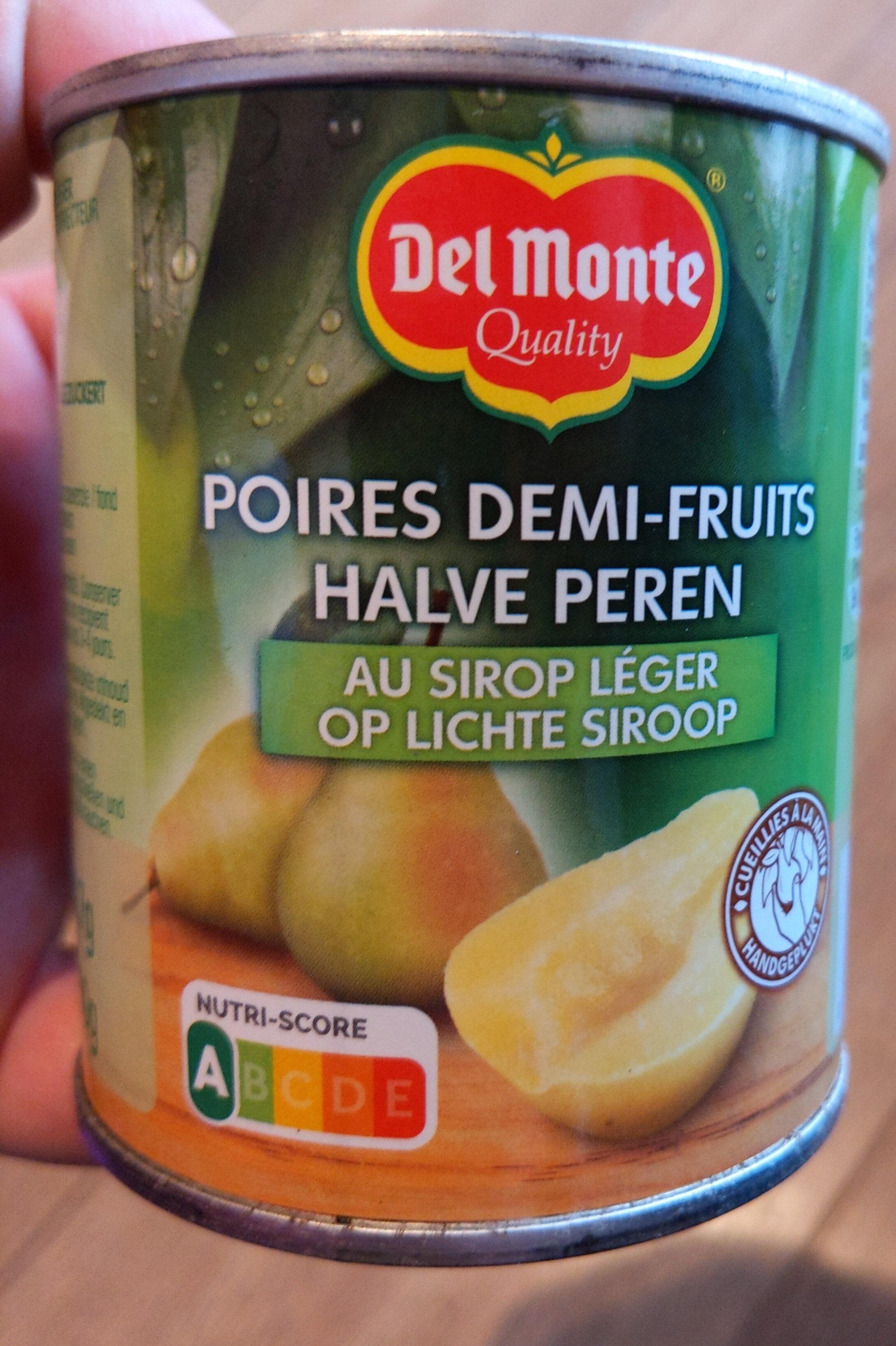 Birnen Halbe Frucht - Produit - de