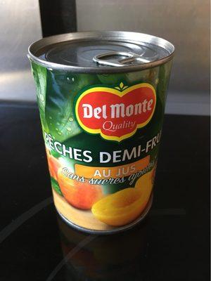 Melocotón mitades en zumo lata 235 g - Produit
