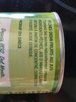 Melocotón mitades en zumo lata 235 g - Ingrédients - fr