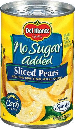 Sliced pears - Product - en