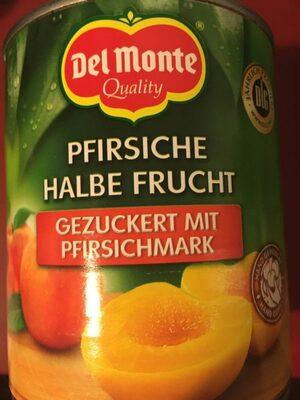 Pfirsiche halbe Frucht - Produit