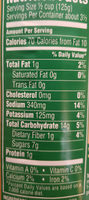 Fresh Cut, Golden Sweet Corn Cream Style - Nutrition facts