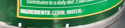 Fresh Cut, Golden Sweet Whole Kernel Corn - Ingredients