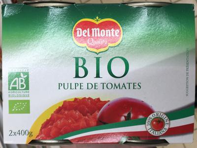 Pulpe de tomates bio - Product