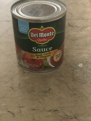 Tomato sauce with basil, garlic & oregano - Producto - en