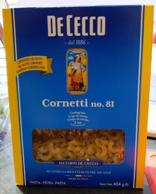 Cornetti no.18 - Produit