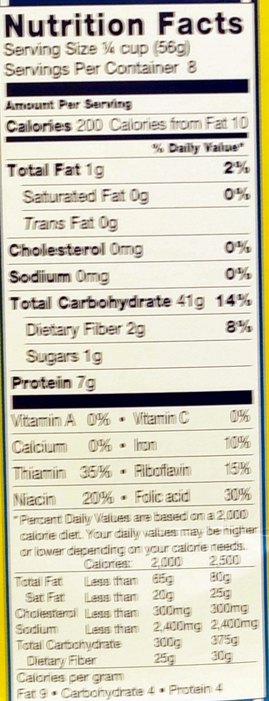 Acini di Pepe no. 78 - Nutrition facts