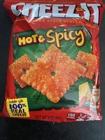 Hot&spicy backed snack crackers, hot&spicy - Produit - en