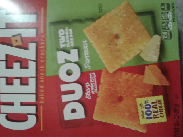 Cheez-It Duoz: Sharp Cheddar & Parmesan - Product