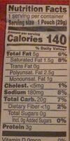 CHEEZ-IT Scramble Junior - Nutrition facts - en