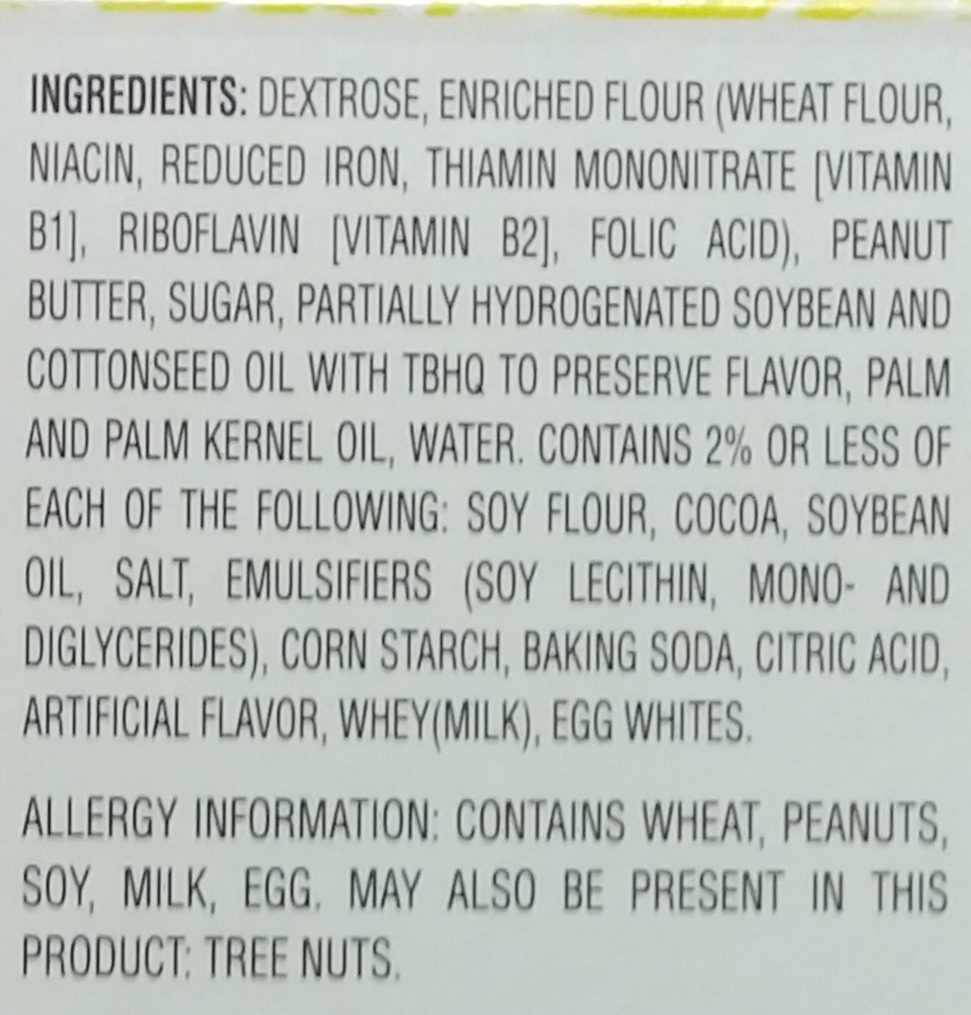Nutty Bars - Ingredients