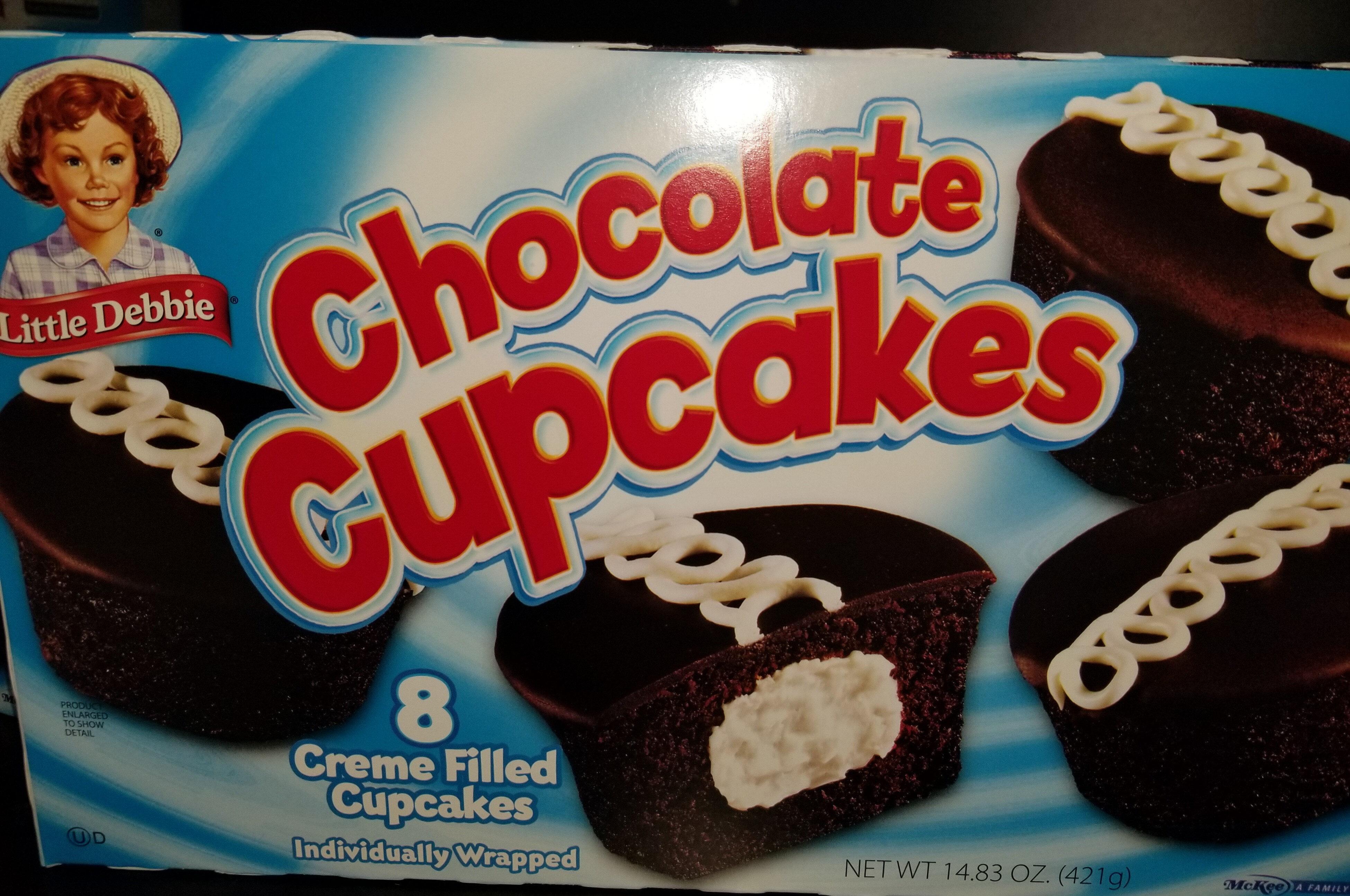 Creme filled cupcakes - Produit - en
