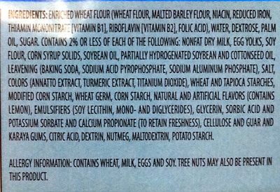 Mini Powdered Donuts nature - Ingredients